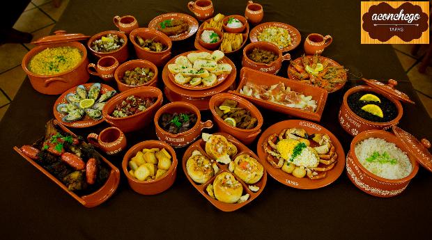 Jantar com 4 Menus de Degustação de Petiscos e Prato Principal em Braga!