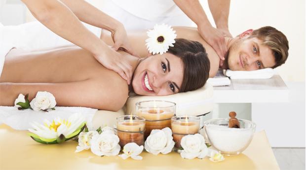Ritual Spa a Dois! Massagem ao Corpo Inteiro em Simultâneo com Fondue de Chocolate, Frutas e Espumante em Braga!