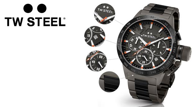 Relógio Masculino TW Steel Edição Especial Mitchell Niemeyer! (Portes Incluídos)