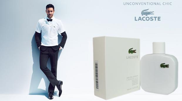 Perfume de Homem Eau de Lacoste L.12.12 Blanc- 100ML!