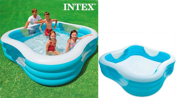Piscina Insuflável Familiar Intex!
