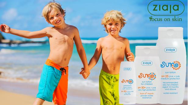 Protector Solar Crianças Ziaja! SPF25, SPF50 e Protector Facial!