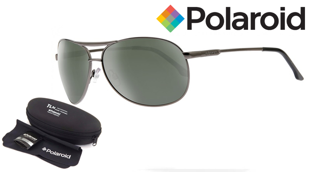 0b91524bb Óculos de Sol Polaroid® com Lentes Polarizadas e OFERTA de Chapéu! Entregas  em 48 Horas!