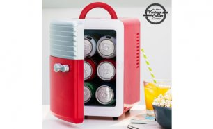 Black Week! Frigobar Retro Vintage Cooler 5 L