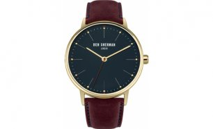 Black Week! Relógio Ben Sherman® London Original Since 1963 WB009BRG I 3ATM