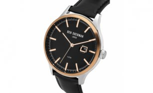 Black Week! Relógio Ben Sherman® London Original Since 1963 WB056BB I 3ATM