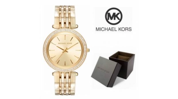 Relógio Michael Kors Darci Dourado