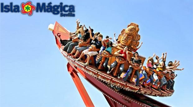 Sevilha na Isla Mágica - 1, 2 ou 3 Noites em Hotel 4* com Entradas nos Parques! 1 Cupão para Toda a Família!