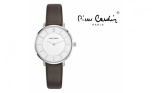 Relógio Pierre Cardin® Brochant Femme Steel Brown
