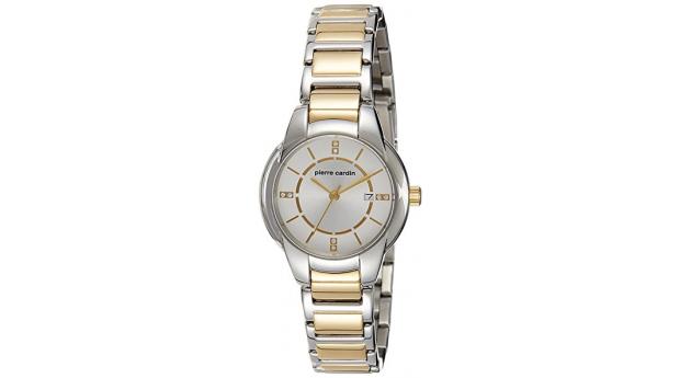ceee1b8b9c3 Relógio Pierre Cardin® Pont Marie Femme Dourado e Prateado - 3ATM