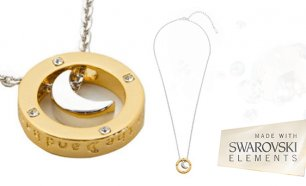 Colar Lua com Cristais Swarovski Elements!