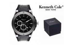 Relógio Kenneth Cole® New York Dress Sport Com Cronógrafo | 3ATM