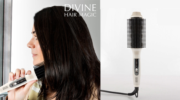 Escova Térmica Modeladora Divine Hair Magic!
