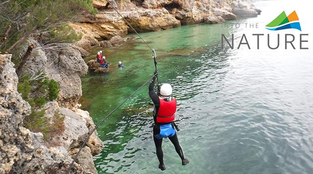 Coasteering para 1 ou 2 Pessoas na Arrábida! Aventura com Muita Adrenalina!
