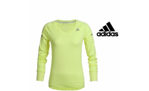 Adidas® Camisola Running Yellow | Tecnologia Climalite® - L