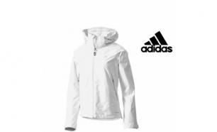 Adidas® Casaco Impermeável Amarelo Fluorescente