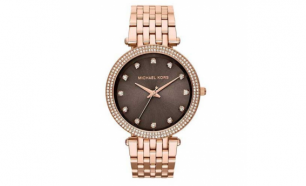 Relógio Michael Kors® Darci Frabe Rose Gold | 5ATM