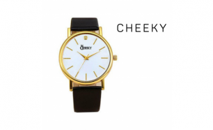 Relógio Cheeky  Black Gold I Movimento Seiko
