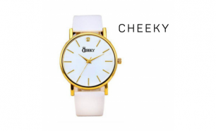 Relógio Cheeky  Light White Gold I Movimento Seiko