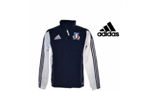 Adidas® Casaco Performance FIR Italy Rugby - M