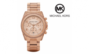 Relógio Michael Kors® Blair Rose Gold | 10ATM