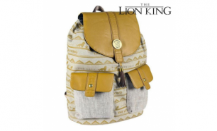 Mochila Casual The Lion King Bege
