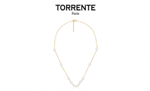 Torrente® Colar Infinity Pearls Gold