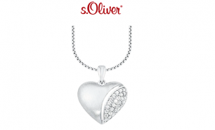 Colar S. Oliver® Silver Heart