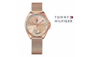 Relógio Tommy Hilfiger® Gold and Classy