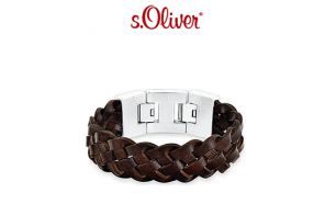 Pulseira S. Oliver® Leather Braid