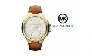 Relógio Michael Kors® Gold and Brown