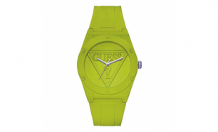 Relógio Guess® Silicone Verde (Ø 42 mm)