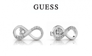 Brincos Guess® Infinity