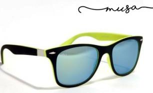 Óculos de Sol Bavaro da Musaventura! Lente Espelhada com Proteção UV400! 0be2e487c5