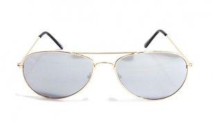 eef003b97 Óculos de Sol Aviator Oaklan Musaventura! Com Lentes Espelhadas Cinza em 10  dias!