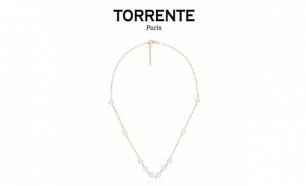 Torrente Colar Infinity Pearls Gold