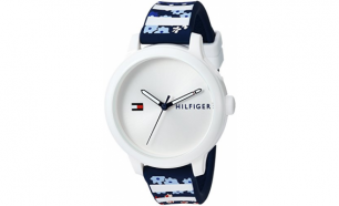 Relógio Tommy Hilfiger® Ashley White Stripes | 3ATM